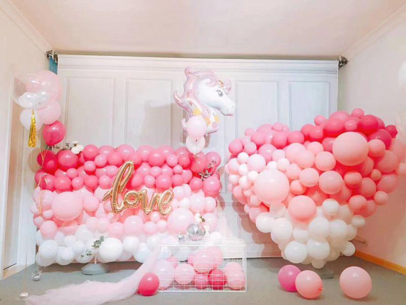宝宝宴策划气球场地布置