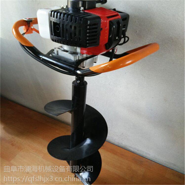 广西大功率汽油挖坑机 省工节能效果好挖坑机