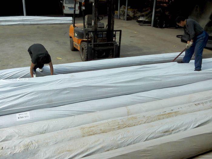 固原复合防渗膜 山东HDPE防渗膜 两布一膜厂家