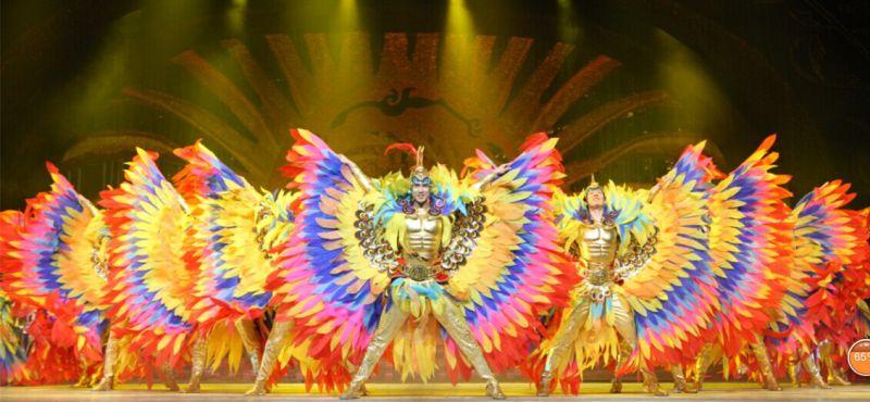北京中外籍舞蹈团彩虹舞蹈团舞蹈表演