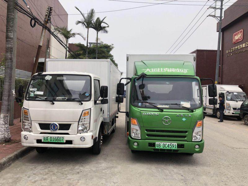 新能源货车出租-纯电动货车租赁-广州新能源货车出租