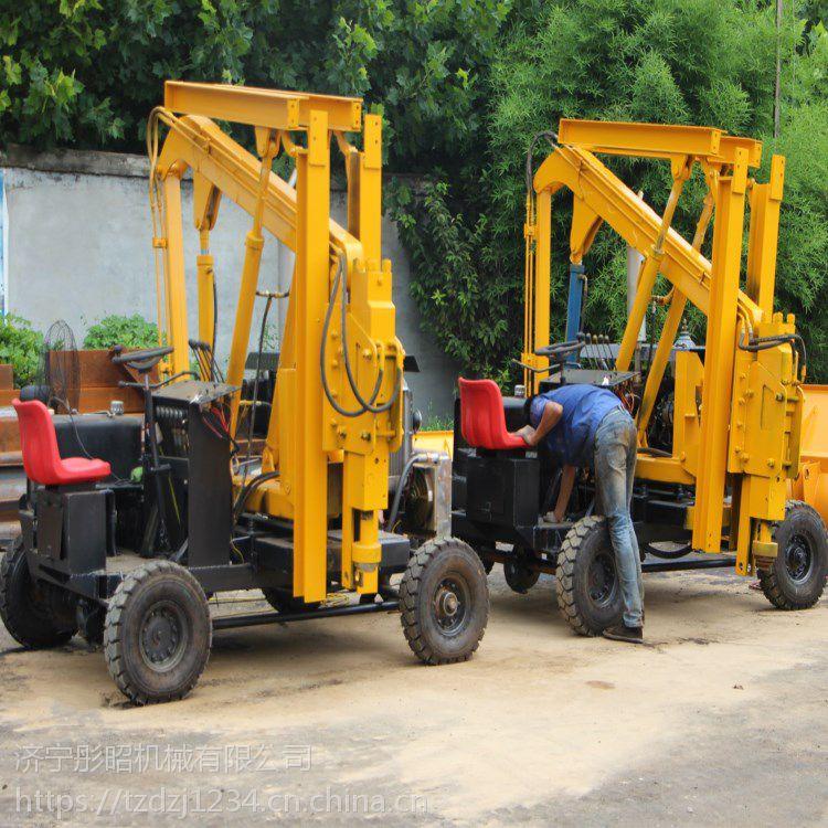 辽宁公路护栏打桩机批量生产