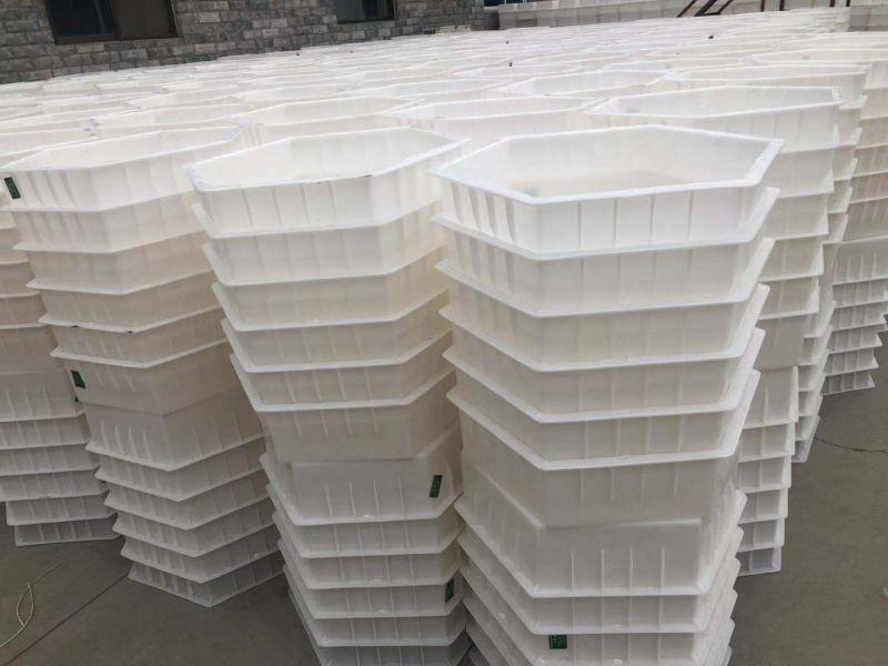 塑料模具塑料六角护坡模具库存展示