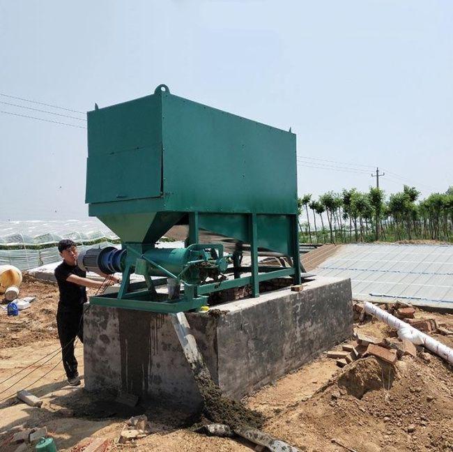 大型污水粪便处理机 滚筒微滤网固液分离机