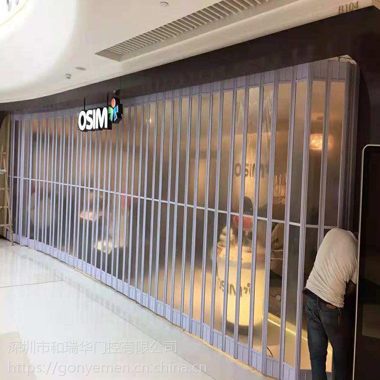 广东卷帘门厂家水晶折叠侧卷门无机布自动卷帘门钢质卷帘门