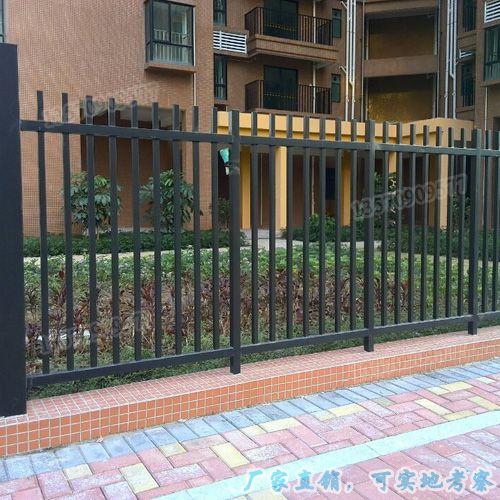 铁艺护栏 珠海室内楼梯扶手栏杆 茂名小区庭院围墙防爬栏厂家