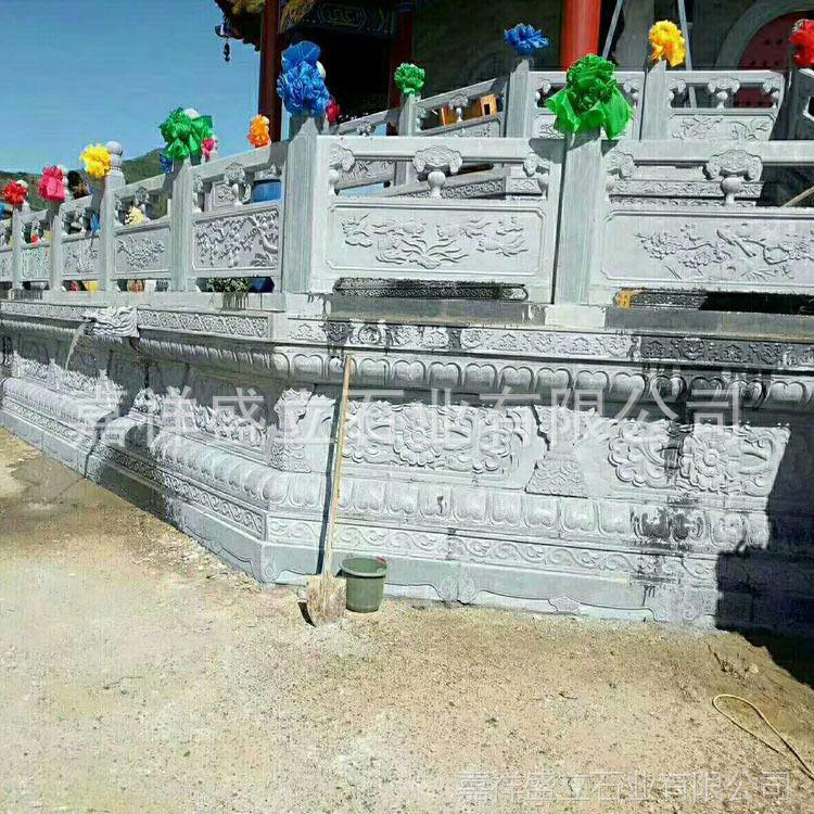 供应各种款式石栏杆 河道栏杆桥梁栏杆 雕花石栏杆