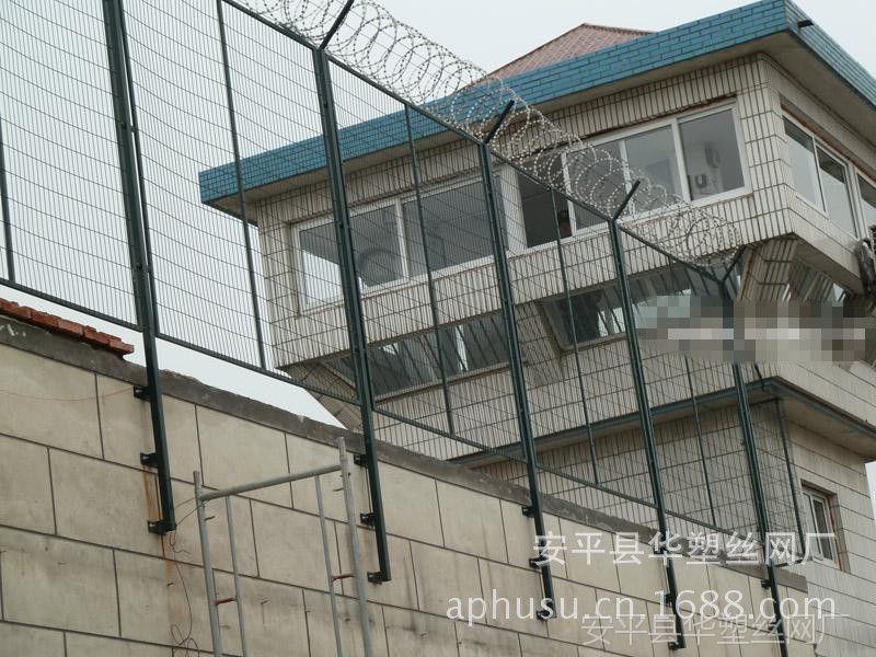【厂家直销】监狱护栏网、围墙刺绳护栏、防攀护栏网