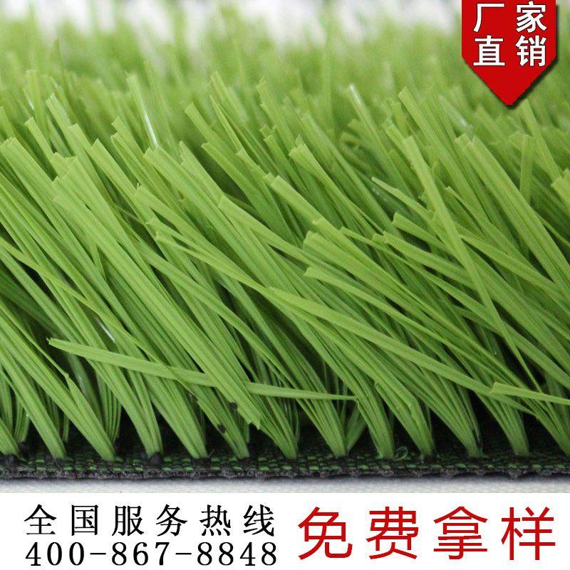 宏跃人造草坪足球场人造草坪铺设施工效果展示