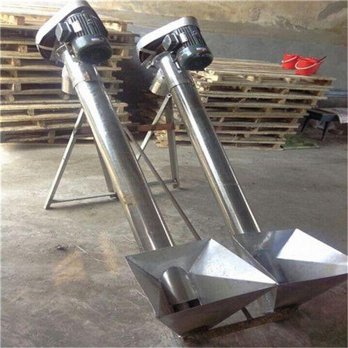 螺旋输送机叶片下料来图生产 非标定制绞龙提升机莆田