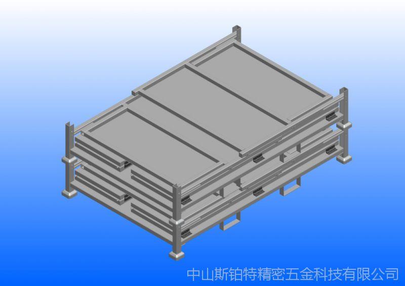 折叠架、折叠笼、布料折叠架、卷料折叠架、