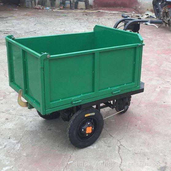 新沂市 工地小型翻斗车 建筑工地专用手推车