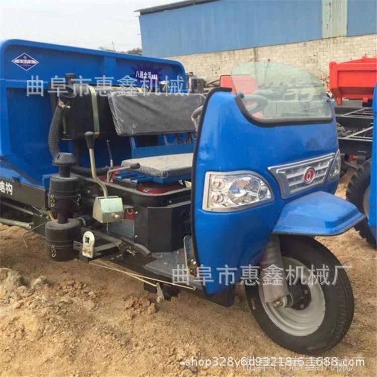 工程自卸柴油机动三轮车型号  矿用货运的柴油三轮车参数