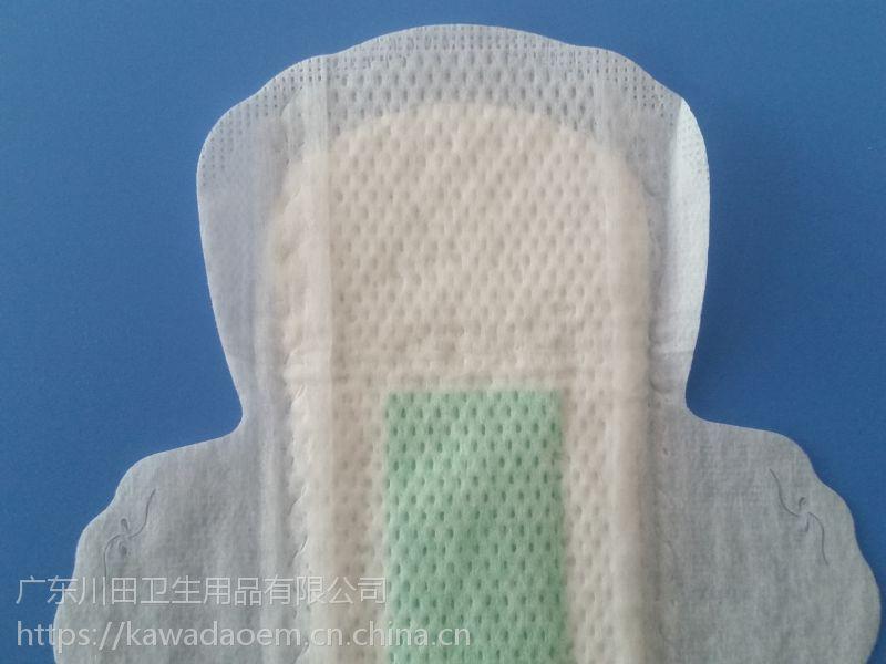 190mm迷你日用卫生巾OEM、卫生巾贴牌、卫生巾代加工、卫生巾制造、卫生巾生产
