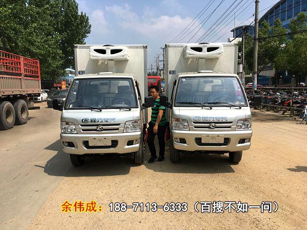 黔西南国五驭菱后单轮水果冷藏车多少钱