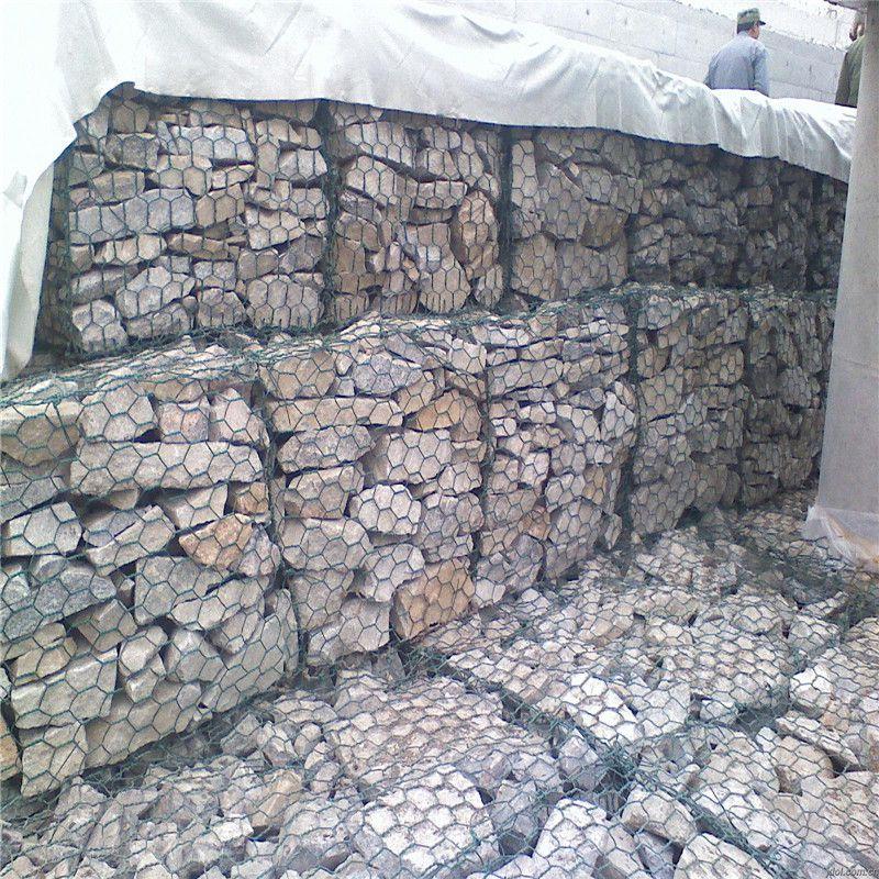石笼网价格 河堤雷诺护垫 格宾石笼网厂家