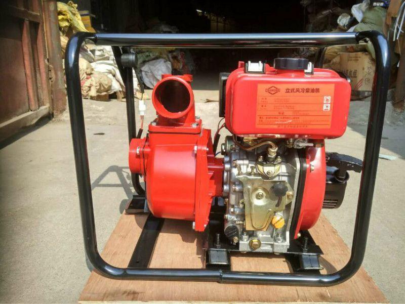 手抬框架式机动水泵 小型灌溉汽油机