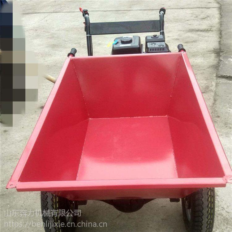 山东奔力制造 加厚灰斗车轮胎规格 转弯方便上坡路两轮车