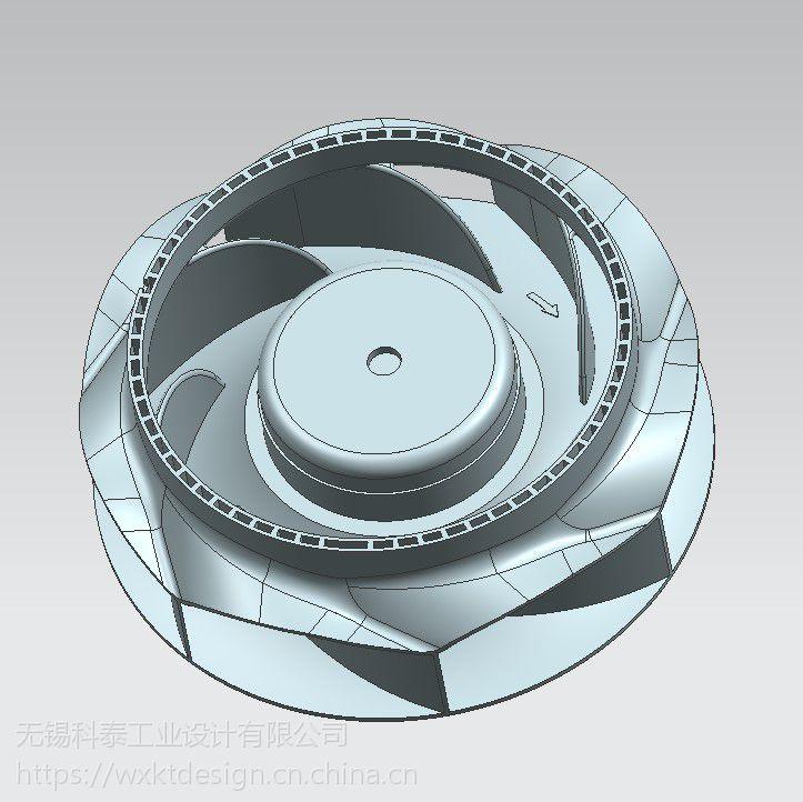 无锡涡轮逆向 上海逆向设计服务 上海产品建模 UG产品设计