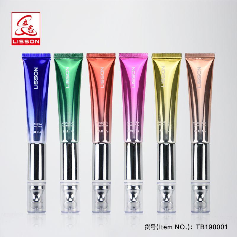 立鑫软管,化妆品黑科技无极振动眼霜软管包材