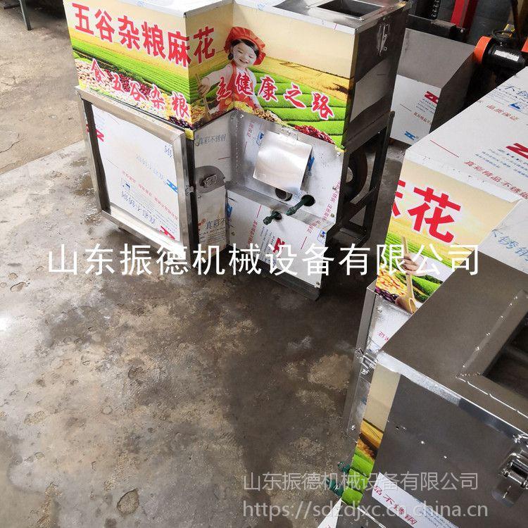 温州新型 十用架式玉米杂粮膨化机 五谷杂粮膨化机生产设备 振德 车载式面粉组合机