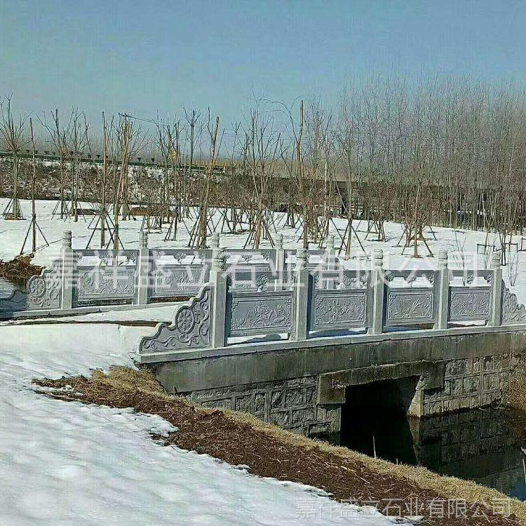 承接大型石雕工程防护栏杆 定做桥梁石材栏杆 量大优惠