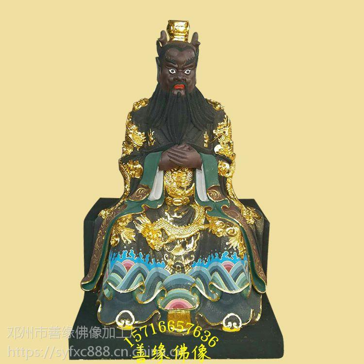 江西佛像厂家供应西海龙王木雕 石雕 树脂贴金彩绘神像