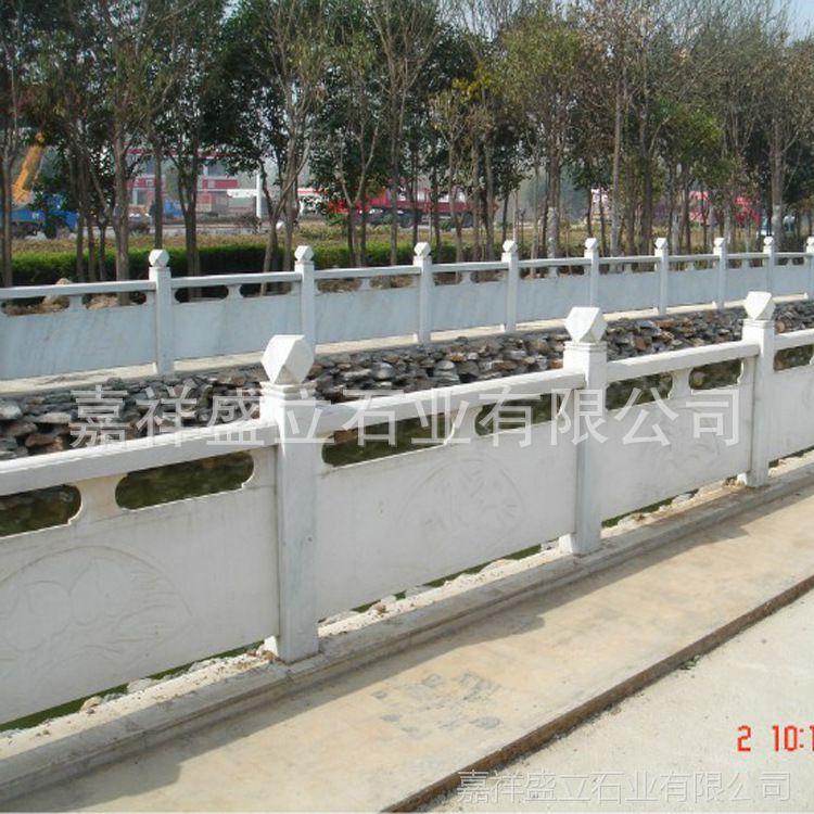 石雕栏杆厂家批发河道石栏杆 河岸桥面石护栏加工 包安装