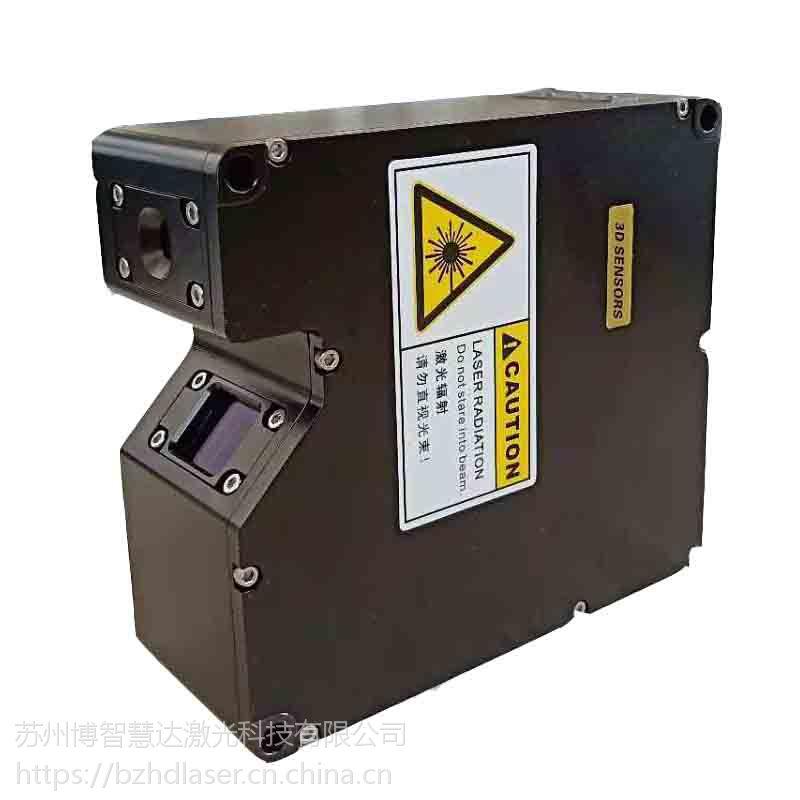 博智慧达大量程激光轮廓传感器与机器人定位抓取配合使用