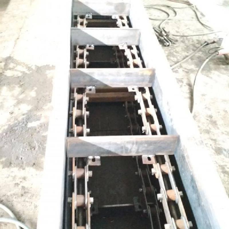 粮食刮板输送机定制大提升量 烘干机配套刮板机临汾
