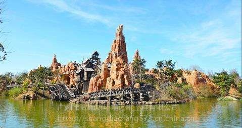 主题乐园规划设计水泥直塑景观工程施工塑石假山仿木专业设计建模