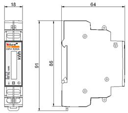 DTSY1352-Z內控射頻卡通用型預付費儀表