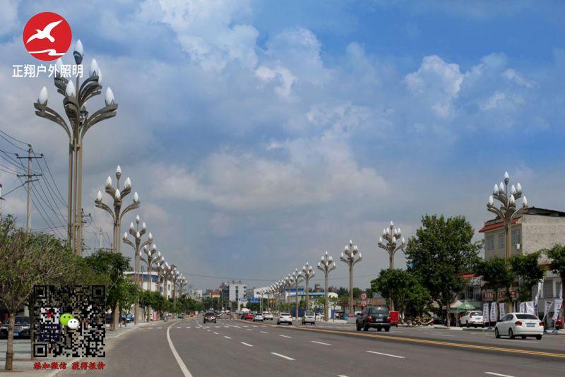 太阳能路灯厂家亮化产品所覆盖的城市区域