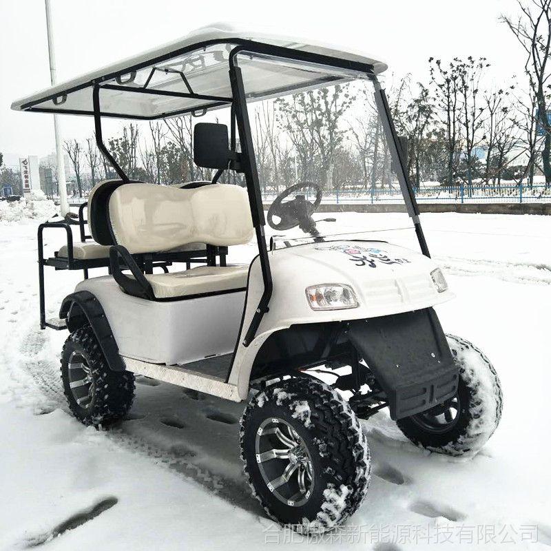厂家直销AS-004 任意颜色均可定制3KW电动观光车代步车越野打猎车