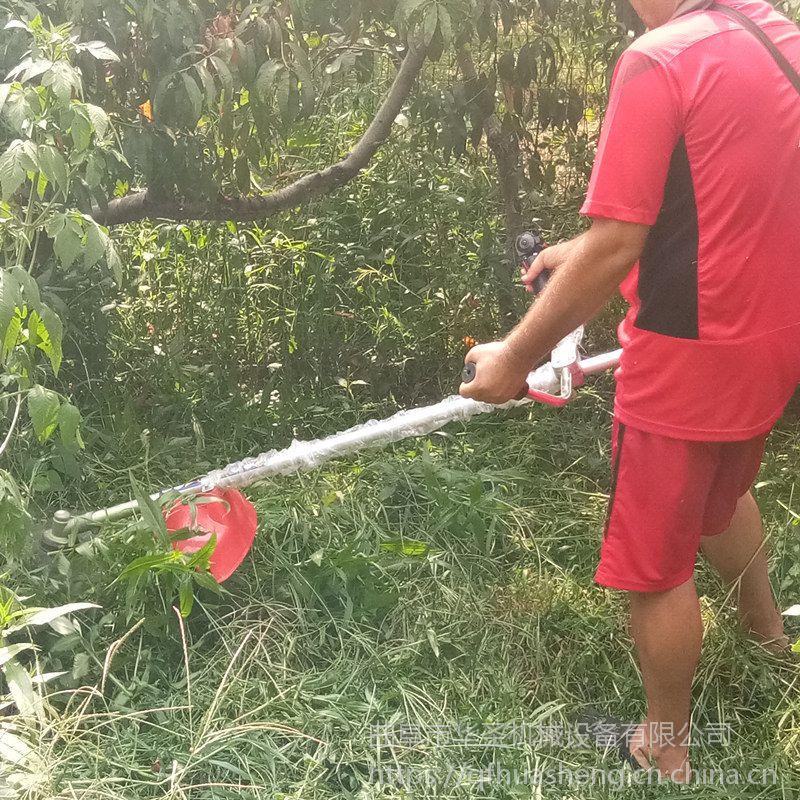果园杂草背负式汽油割草机 花圃小型号轻松除草机