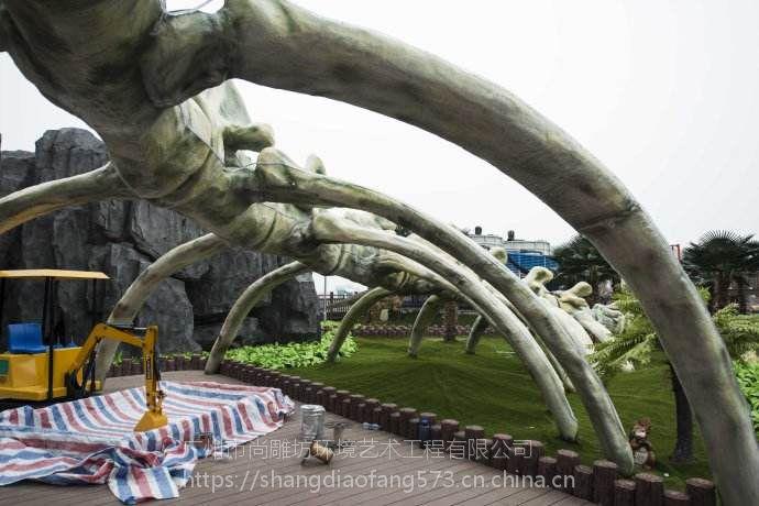 水泥直塑工艺塑石假山主题乐园景观工程设计效果施工方案 平面图手绘图3D建模