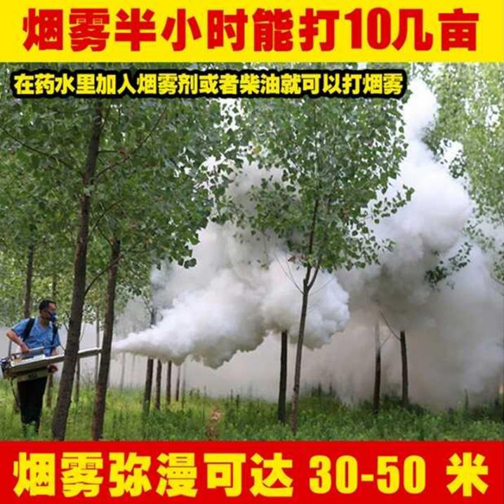 双启动农田果园打药机 弥雾机高效