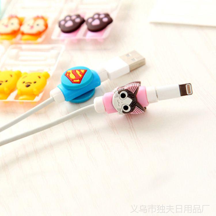 0628创意可爱卡通手机数据线保护套 充电线保护套 耳机线保护套