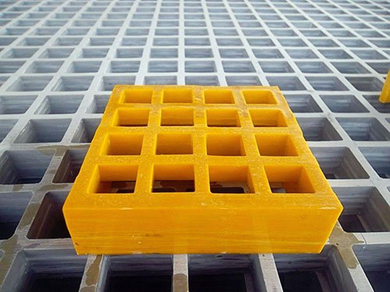 玻璃钢格栅专业生产厂家玻璃钢格栅型号齐全塑料拼接格栅多色可选