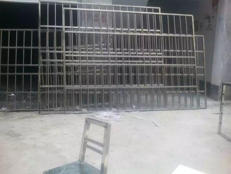 防盗网雨棚护栏货架推车门窗安全设施阳光玻璃棚彩钢棚大型钢结构