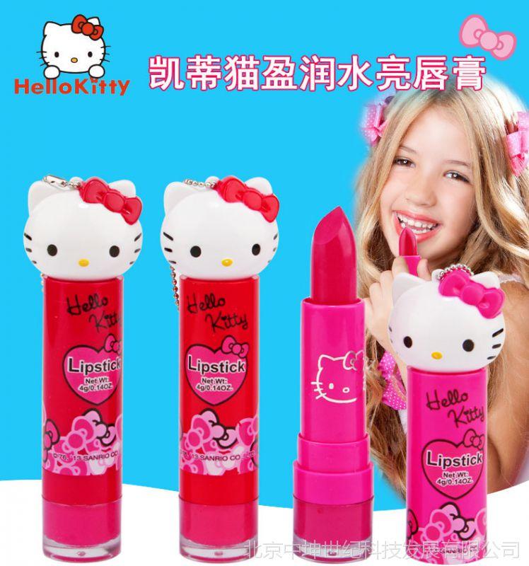 凯蒂猫KT猫小学口红小学生润唇膏儿童化妆品唐女孩市中心常熟图片