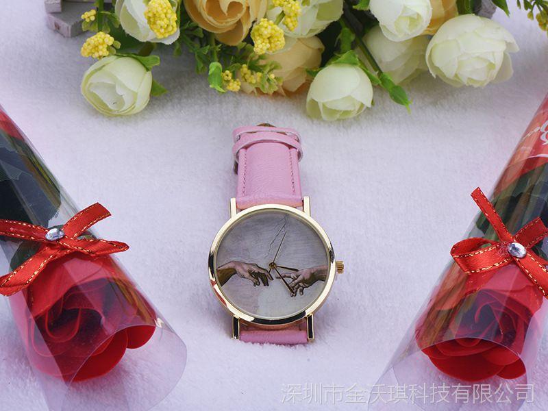 速卖通ebay热卖 休闲潮流时装手表 男女情侣表 中性时尚石英表