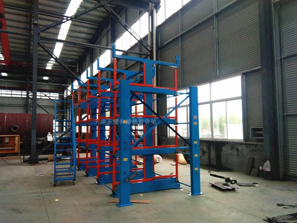 安徽钢材货架报价 钢材库使用货架类型 行车配套作业