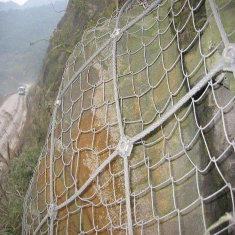 新疆边坡防护网生产车间