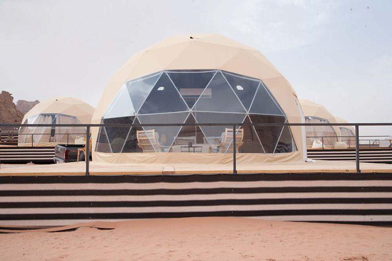 6M直径住宿星空球形帐篷