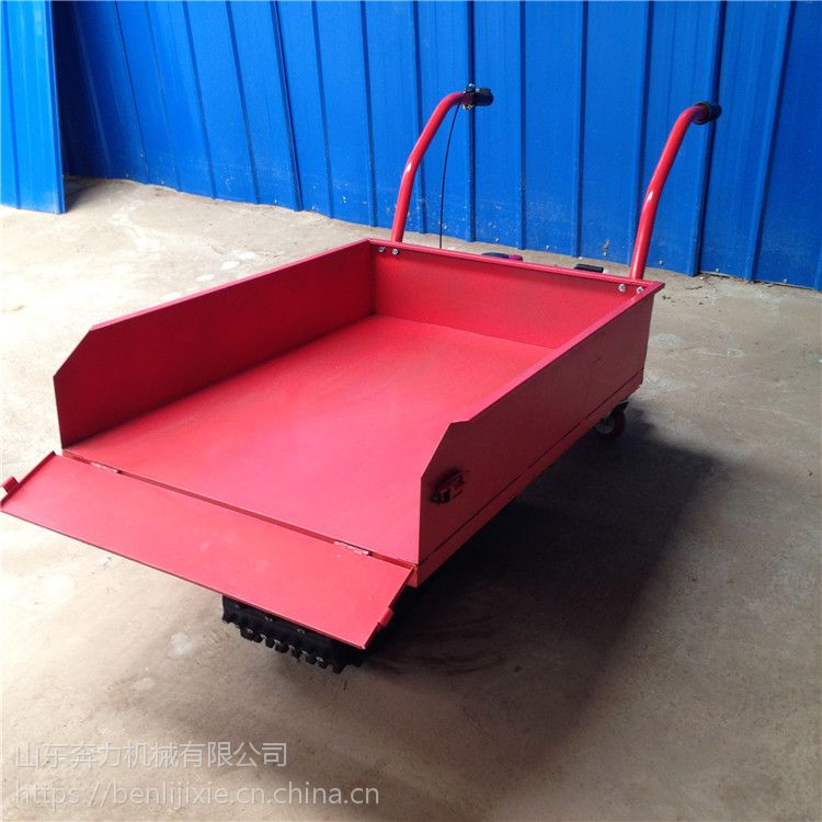 结实牢固泥巴路运货车 履带式灵活操作搬运车 奔力YT-DLD