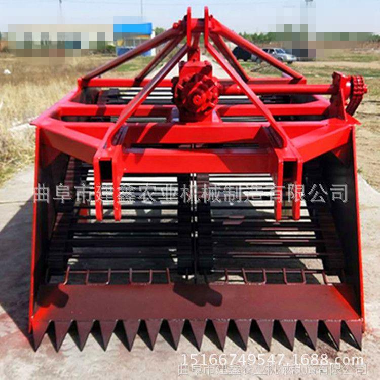 吉林长春起参机生产厂家大型药材挖掘机蒲公英起根机黄芪挖掘机