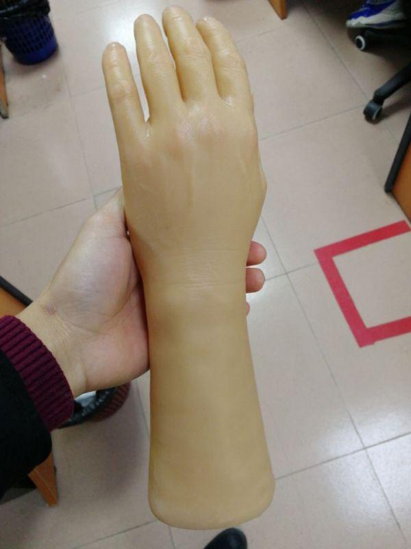 硅胶假手,假肢怎么制作