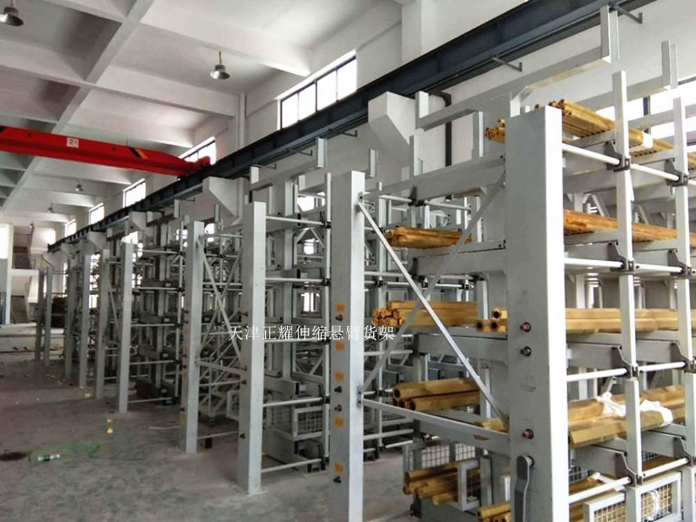 广东管材货架定做 悬臂伸缩式货架结构 放6米管材