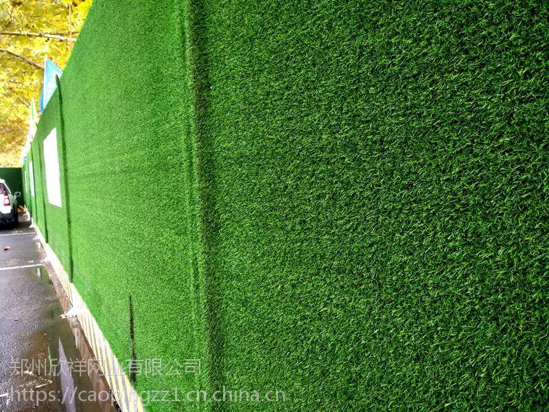郑州工地围挡草坪人造草坪假草皮绿色人工造户外绿物墙 人造草皮现货